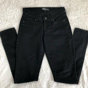 Old Navy Black Diva Skinny Jeans